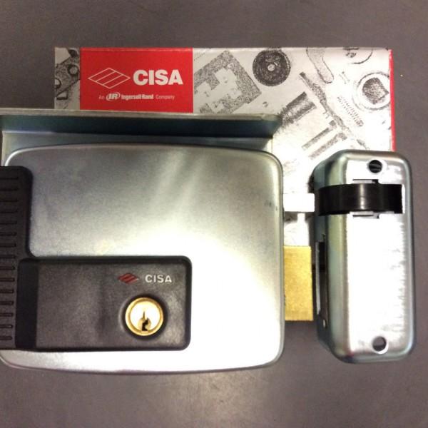 Serratura elettrica elettroserratura cisa 11721 - Cilindro europeo cisa 5 chiavi ...