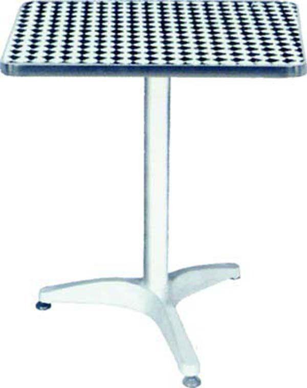 Tavolo Quadrato Da Esterno.Tavolo Bar Quadrato Da Esterno In Alluminio Ferramenta Giorgi